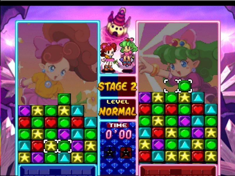 A gameplay screenshot of Panel de Pon.