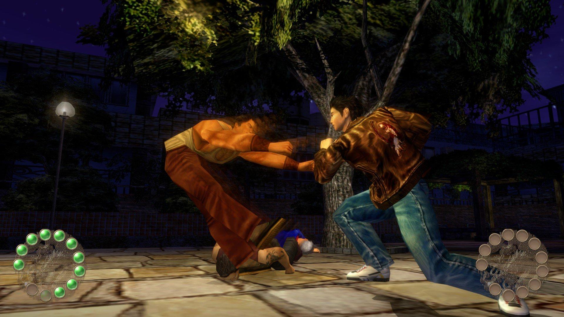 Shenmue II Combat
