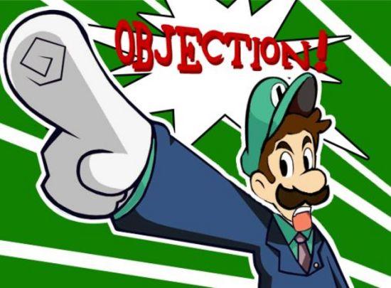Fake game Friday: Luigi Mario: 1up Attorney – Destructoid