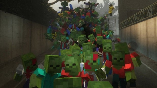 Left 4 Dead mod Common infected: Deathcraft Zombies