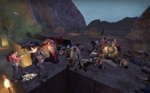 Left 4 Dead mod Helm's Deep Reborn