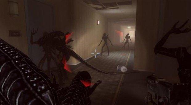 Left 4 Dead mod Common infected: Xenomorphs