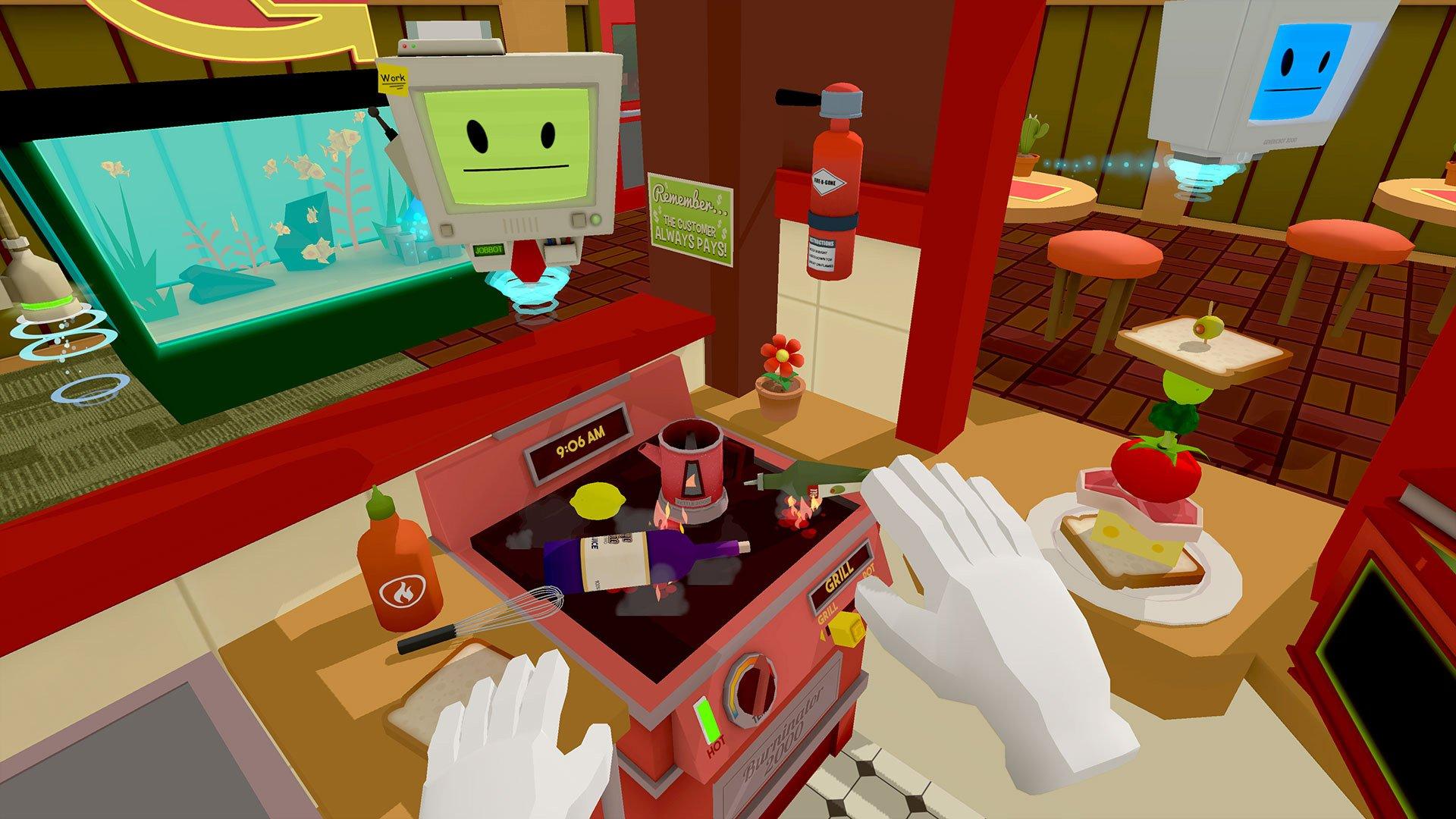 Job Simulator review PSVR