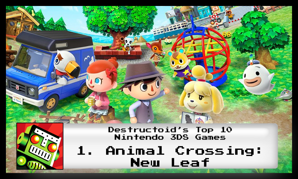 Animal Crossing: New Leaf is one of the best 3DS games