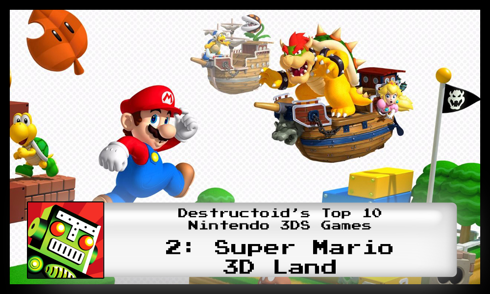 Super Mario 3D Land is one of the best 3DS games