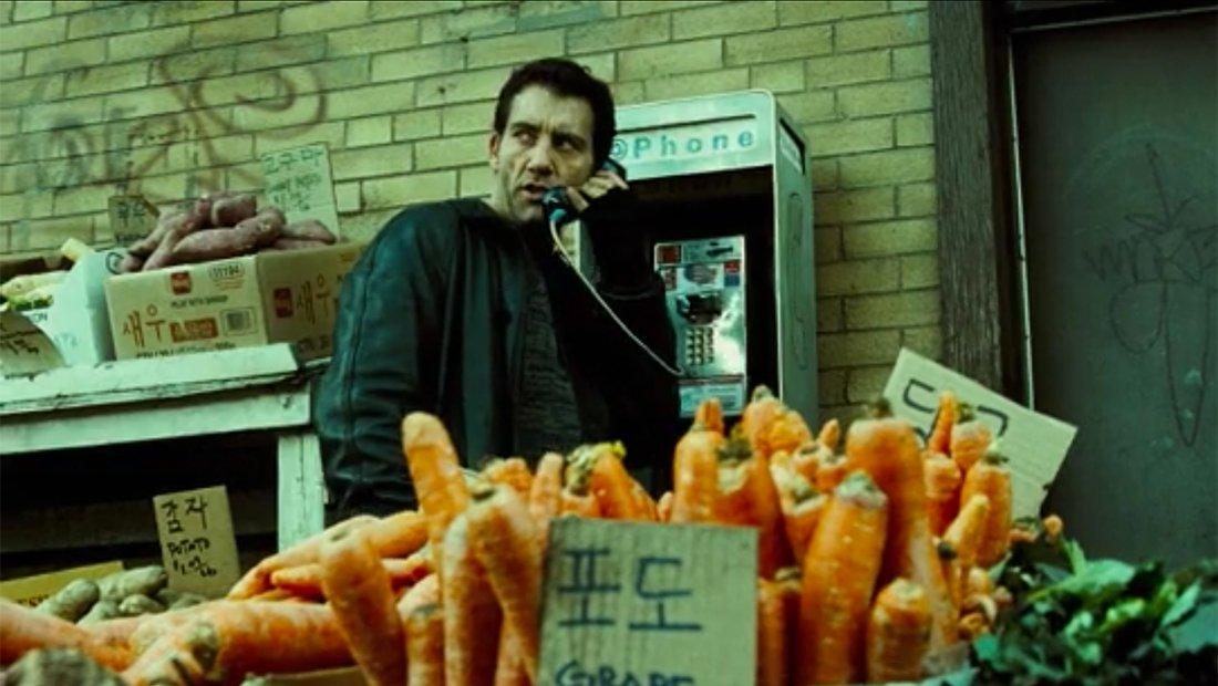 He really, REALLY loves carrots.