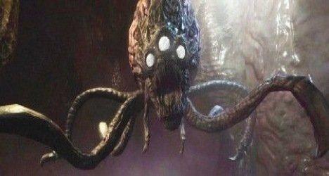 Big scary alien