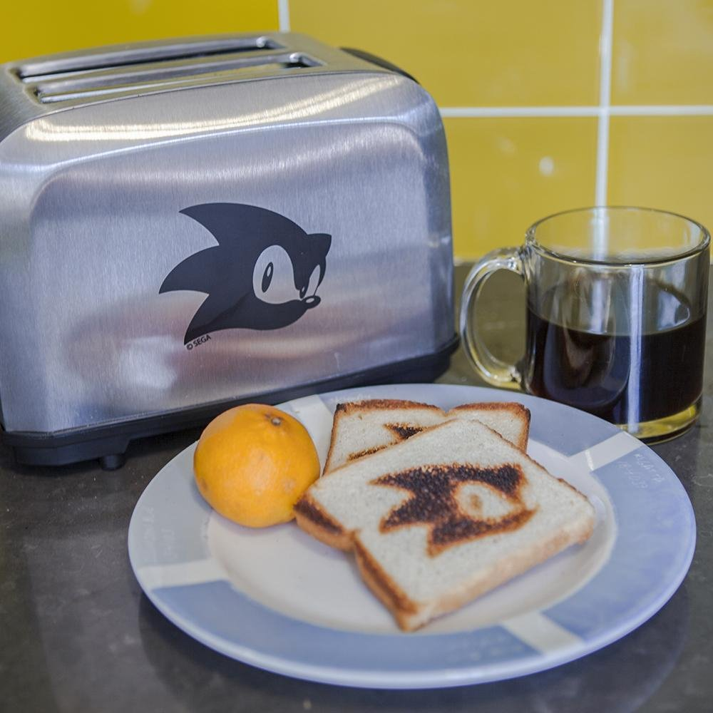 Sonic the Hedgehog toaster