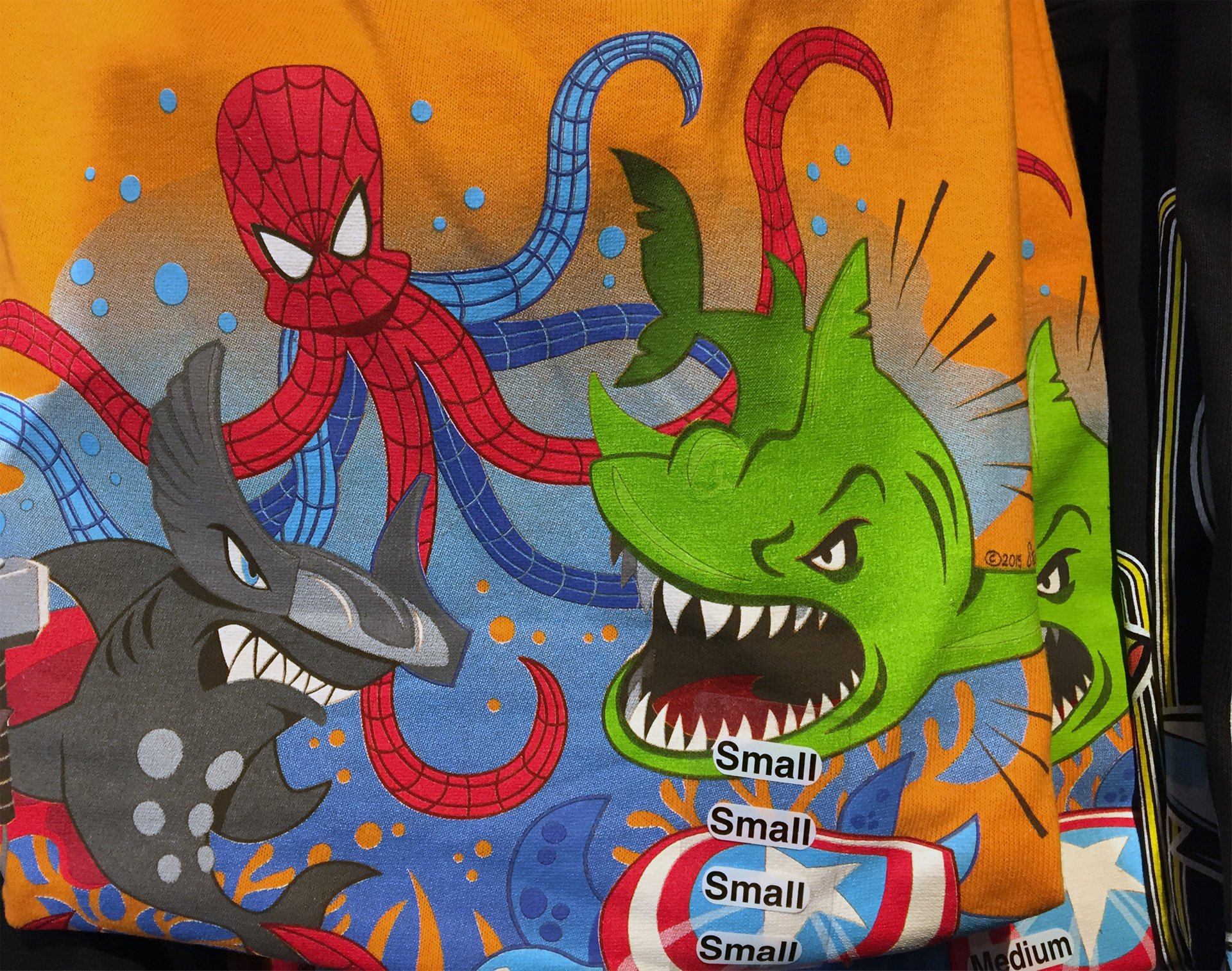 Spider-Man envisioned as an octopus