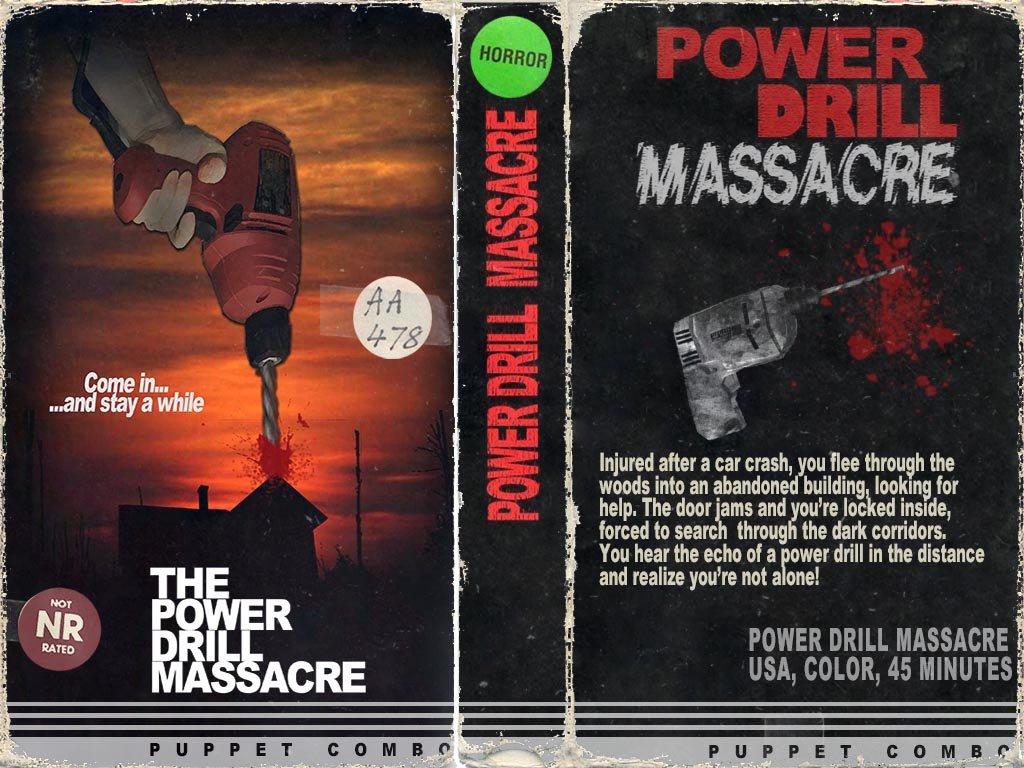 Puppet Combo Power Drill Massacre