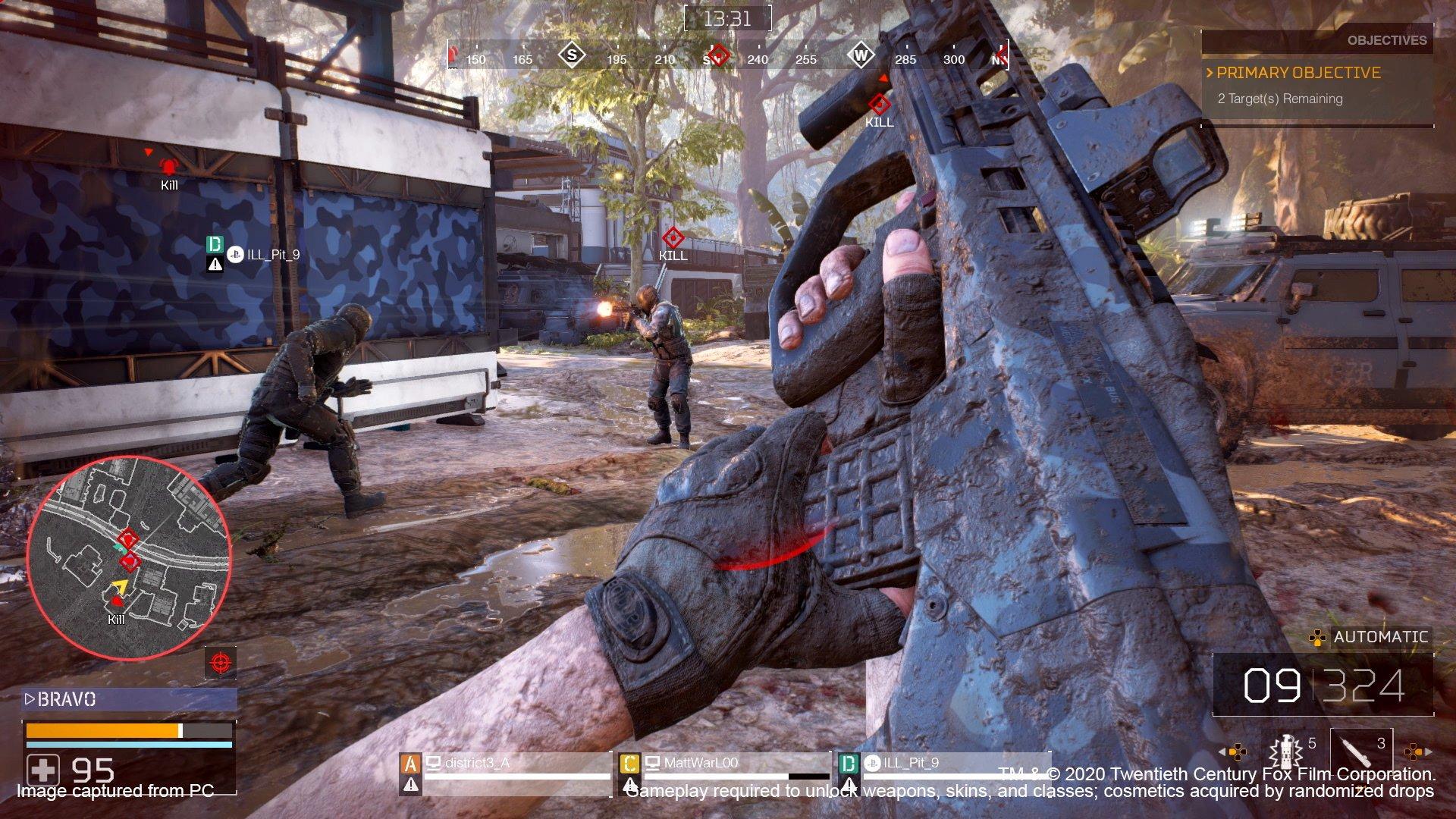 Fireteam gameplay