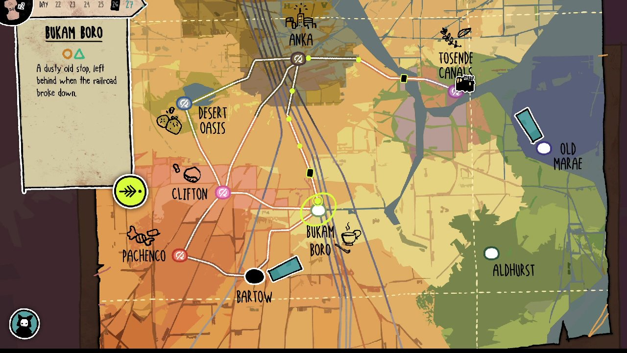 Signs of the Sojourner map