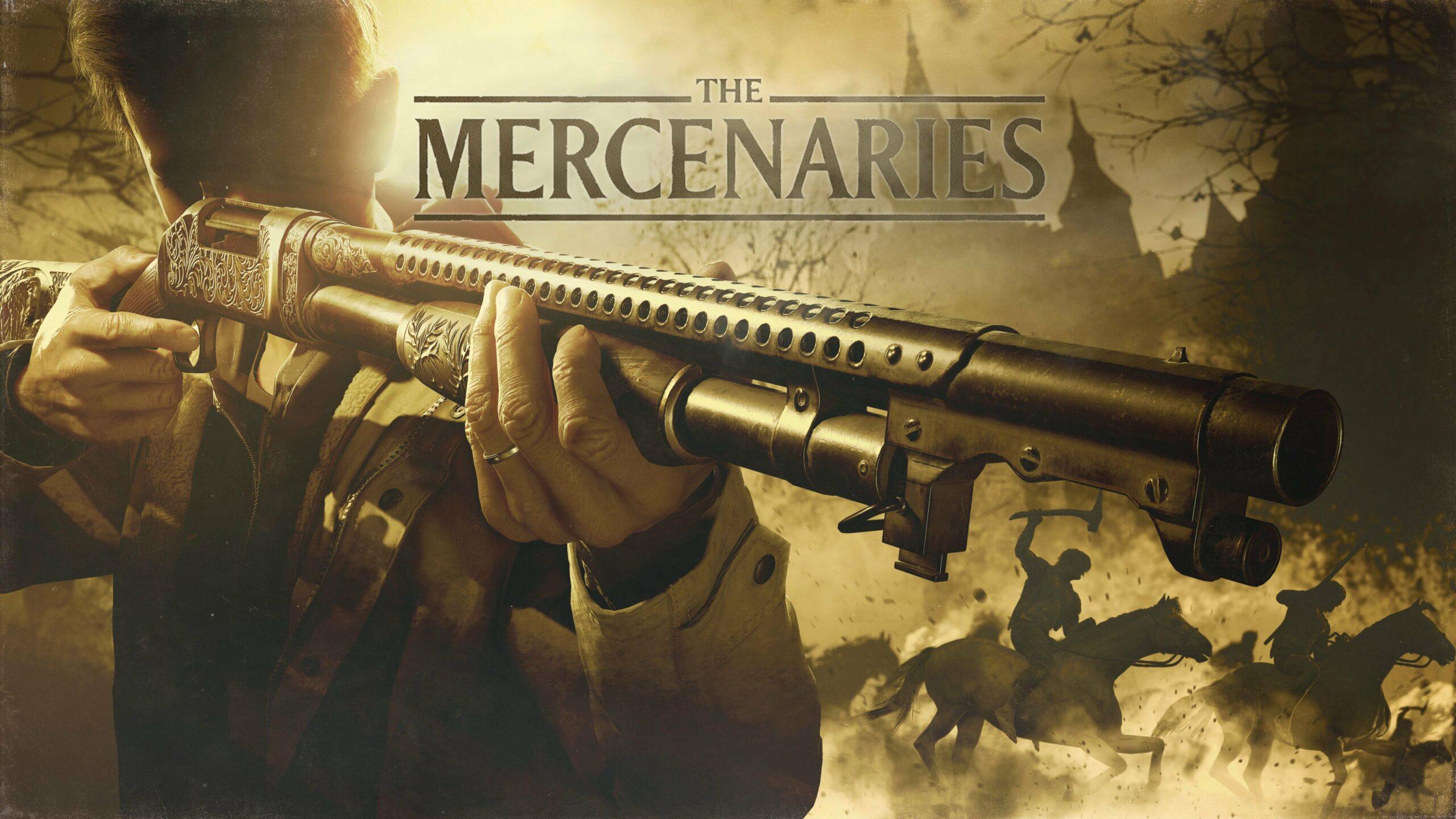 Resident Evil Village: The Mercenaries wallpaper