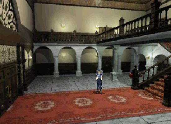 Resident Evil main foyer