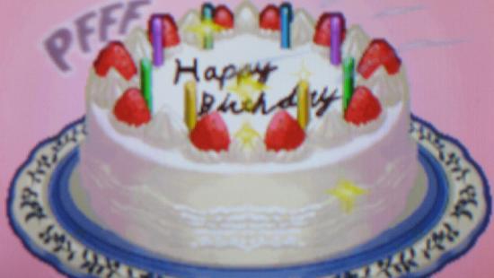 Elite Beat Agents birthday cake