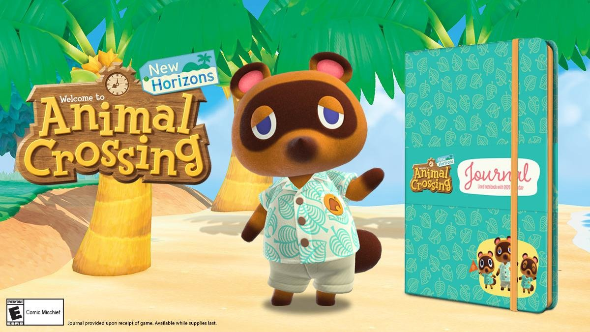Animal Crossing: New Horizons journal from Target