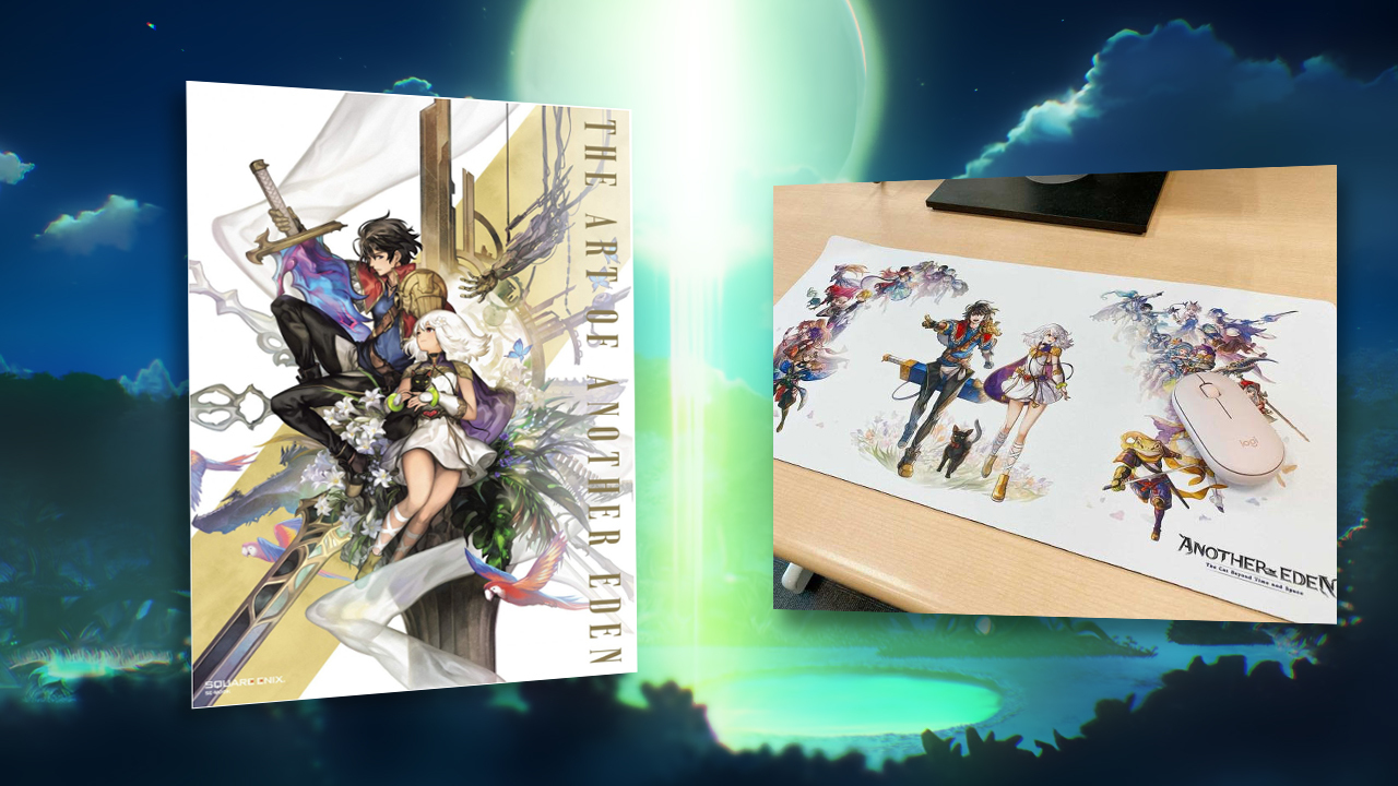 Another Eden prize pack artbook contest win