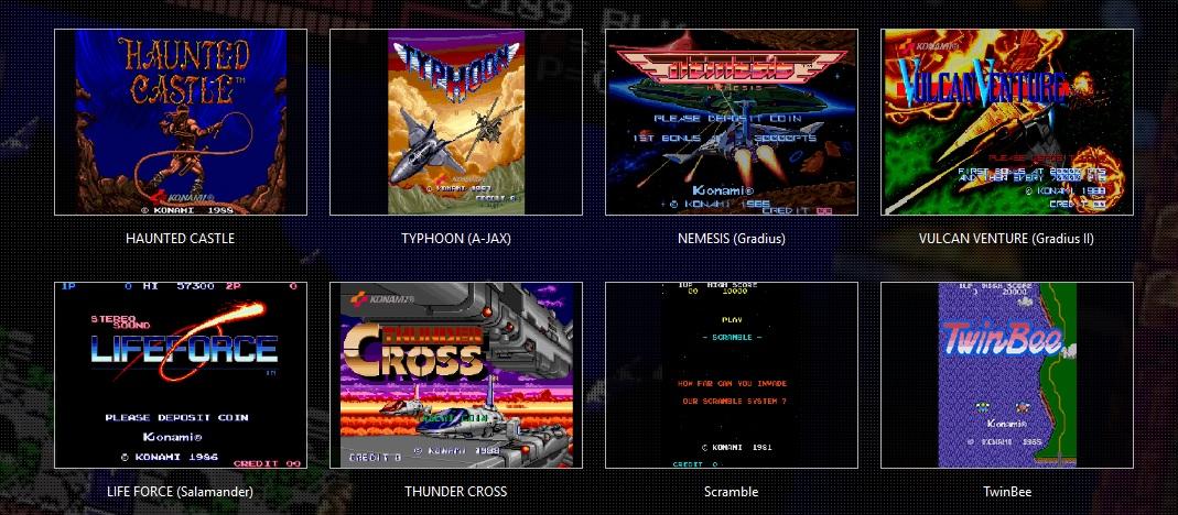 Konami Anniversary Arcade
