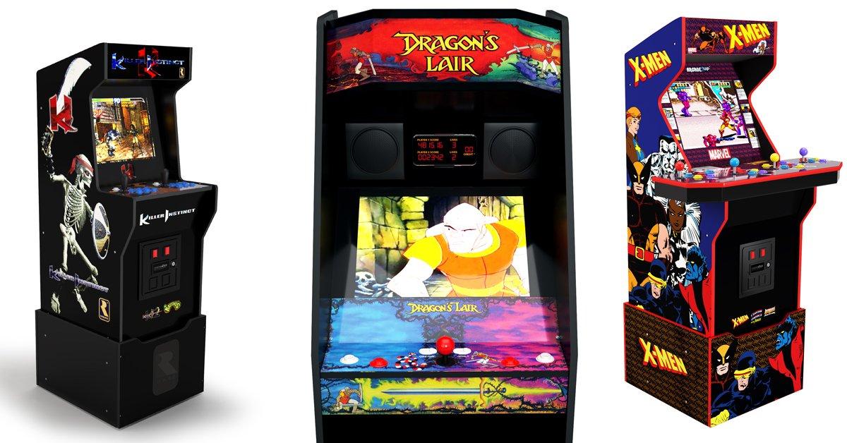 Arcade 1Up Killer Instinct X-Men Dragon's Lair