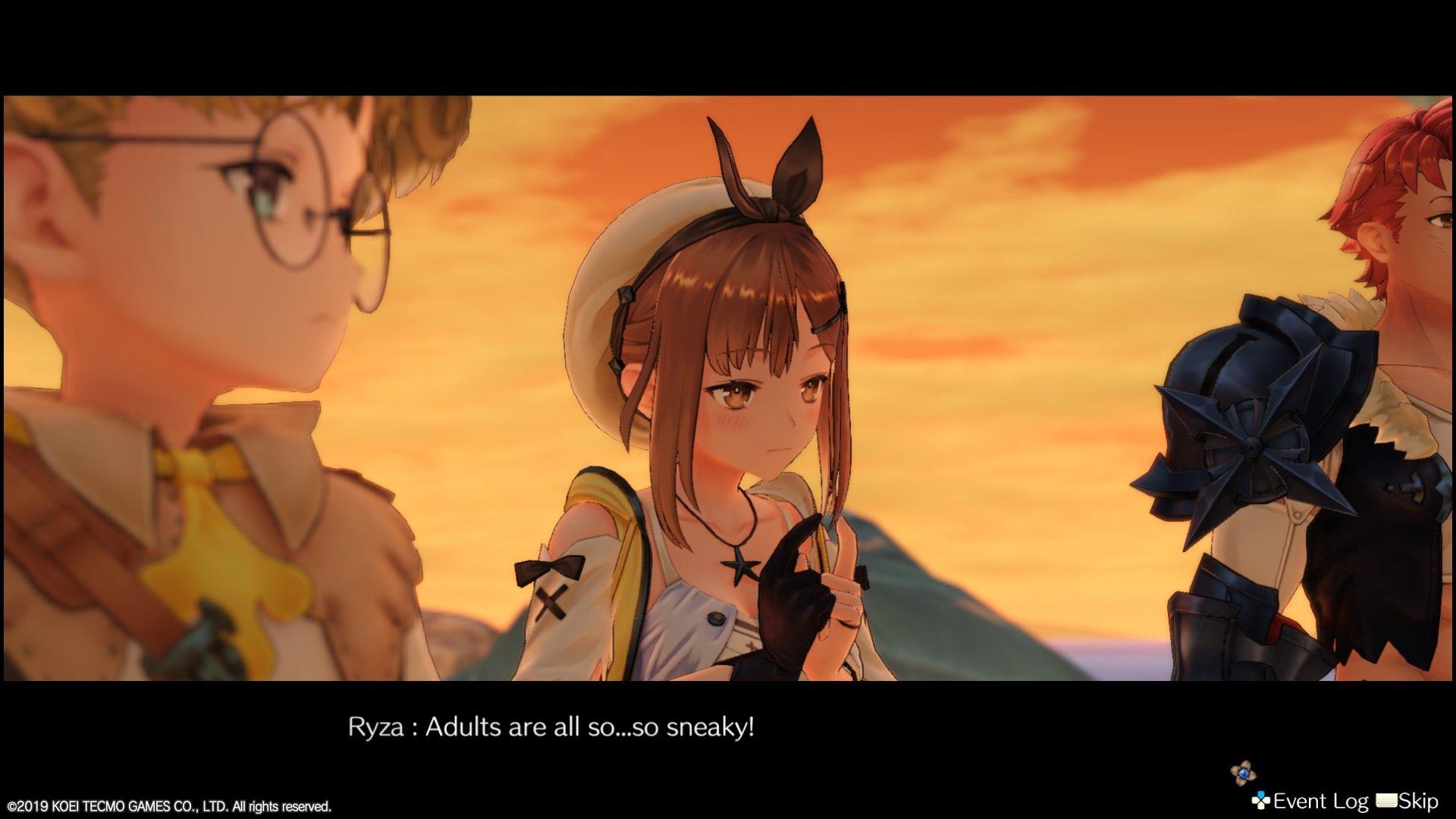 Atelier Ryza: Ever Darkness and the Secret Hideout cutscene