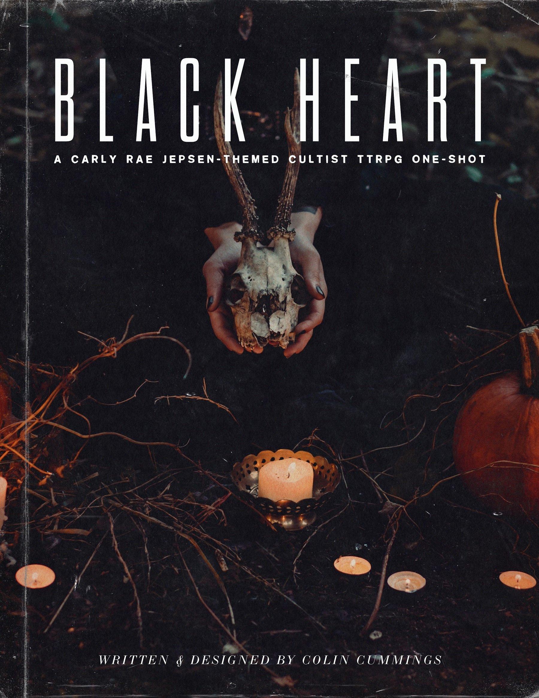 Carley Rae Jepsen Black Heart tabletop RPG
