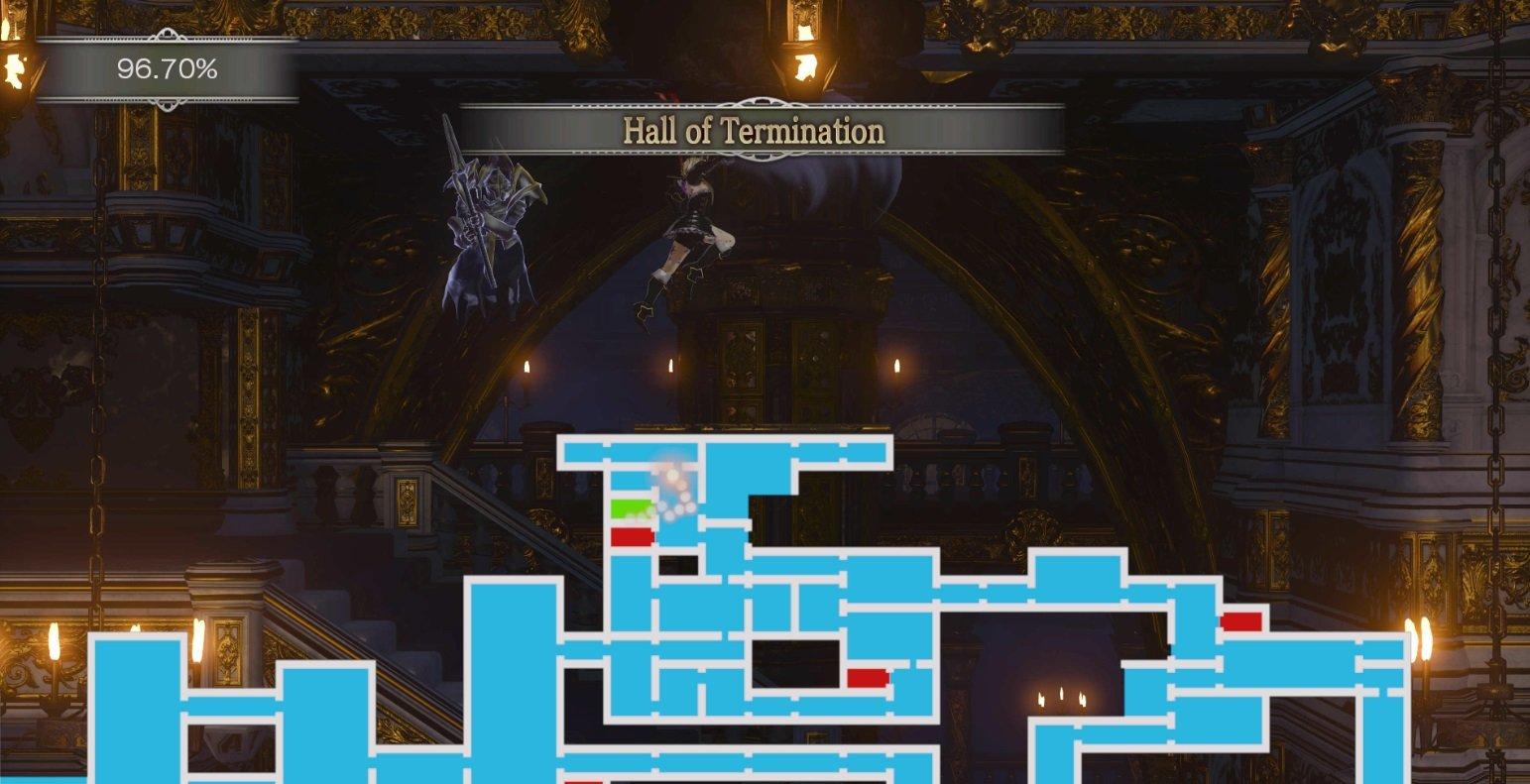 Bloodstained 8 bit boss location guide