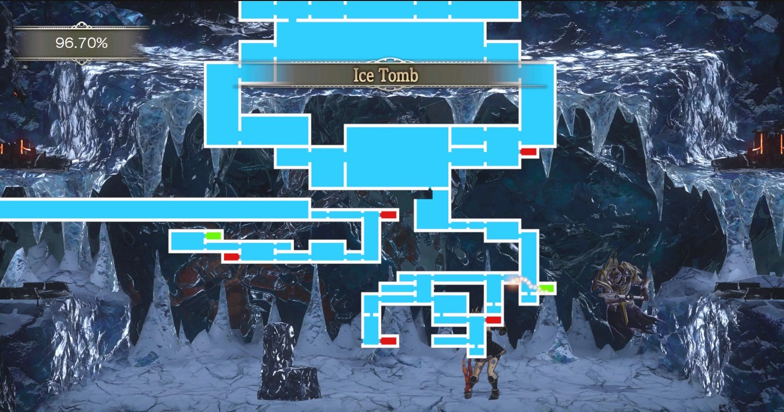 Bloodstained Ice Tomb endgame boss OD
