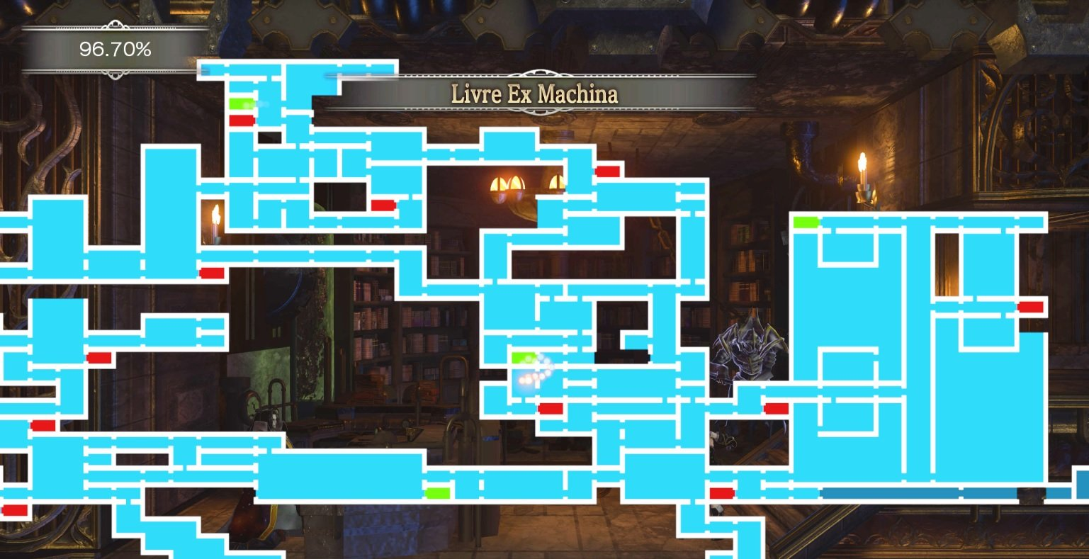 Bloodstained endgame boss location guide