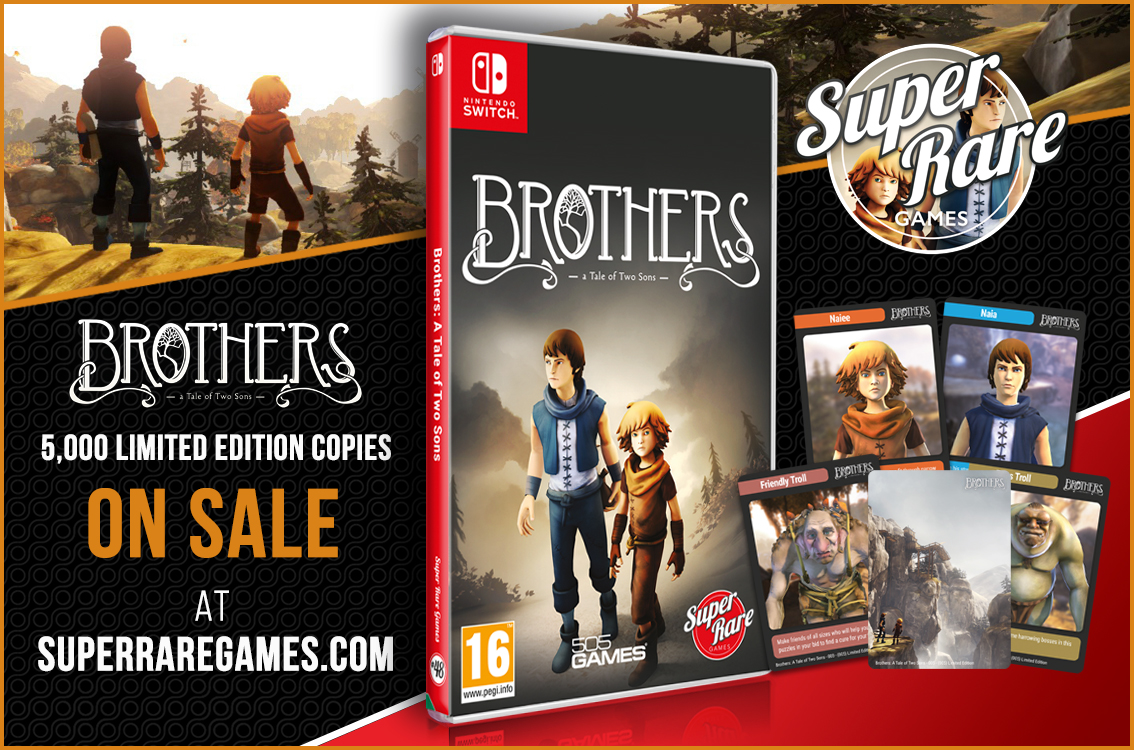 Brothers: A Tale of Two Sons Switch contest win