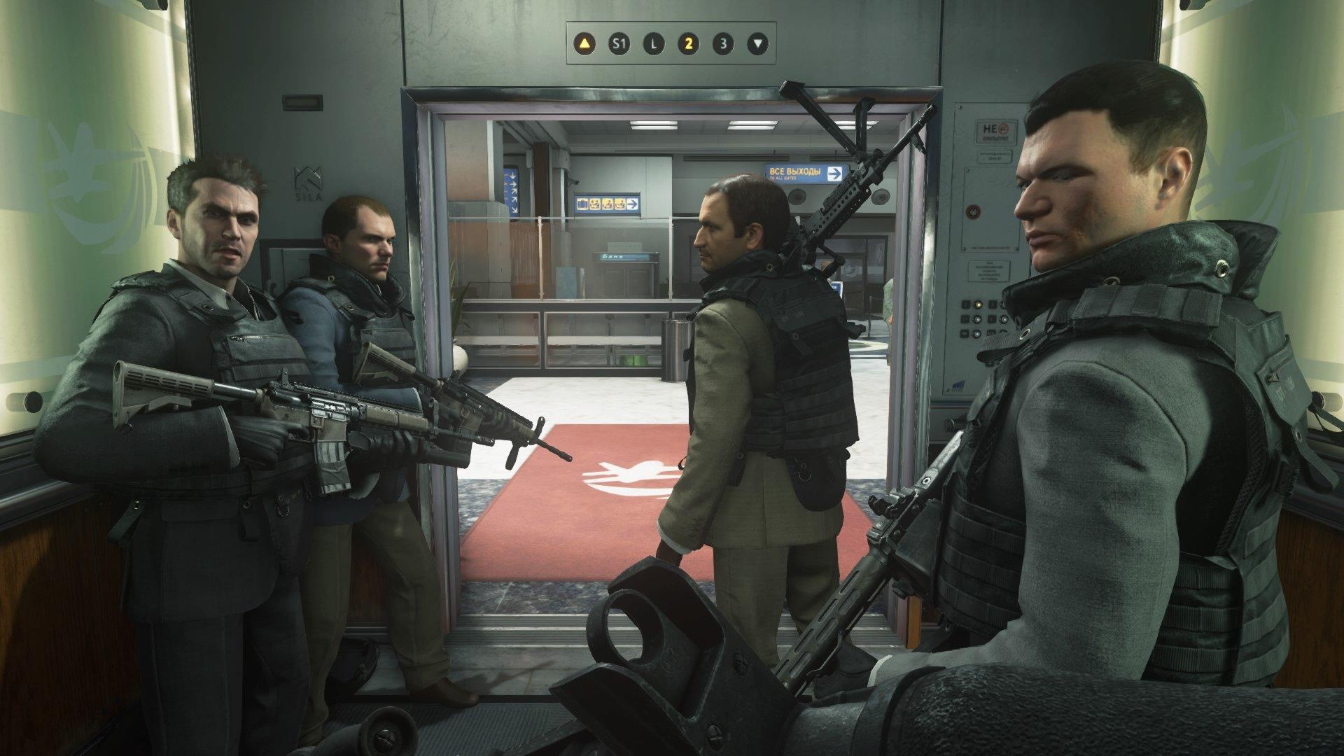 "Call of Duty: Modern Warfare 2 ""No Russian"""