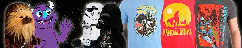 Star Wars Day contest win t-shirt plush