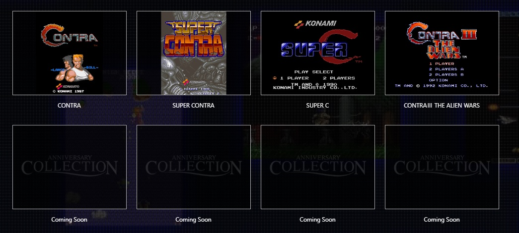 Konami Anniversary Contra