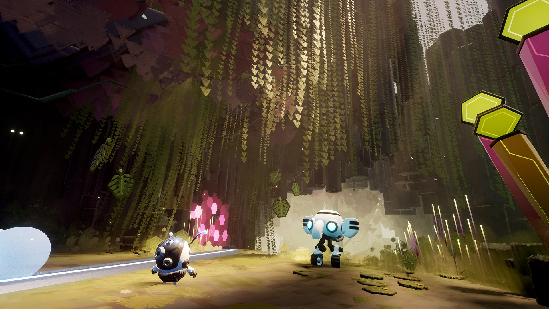 Dreams PS4 D-Bug and Ele-D