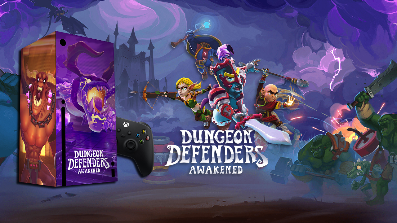 Dungeon Defenders Xbox Series X contest win