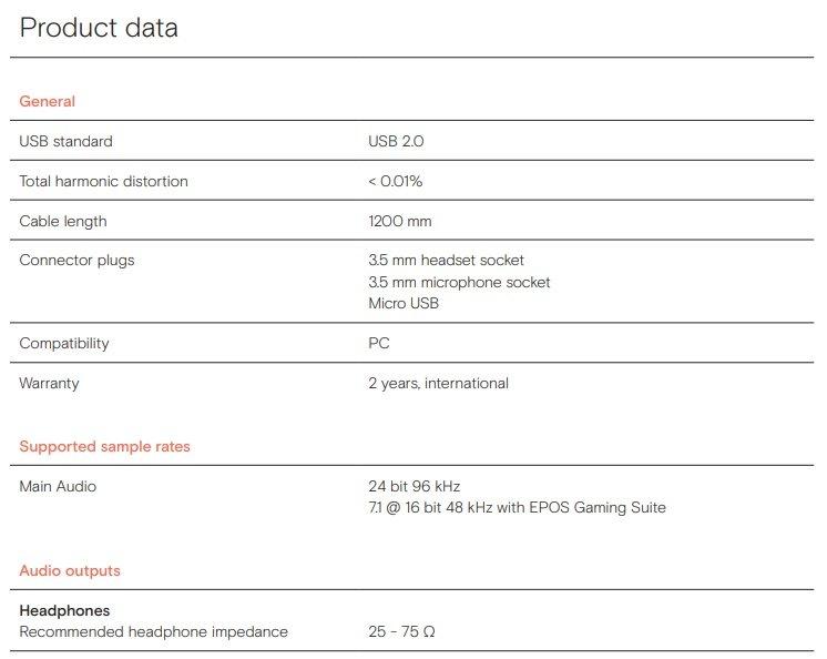 EPOS GSX 300 External Sound Card contest win