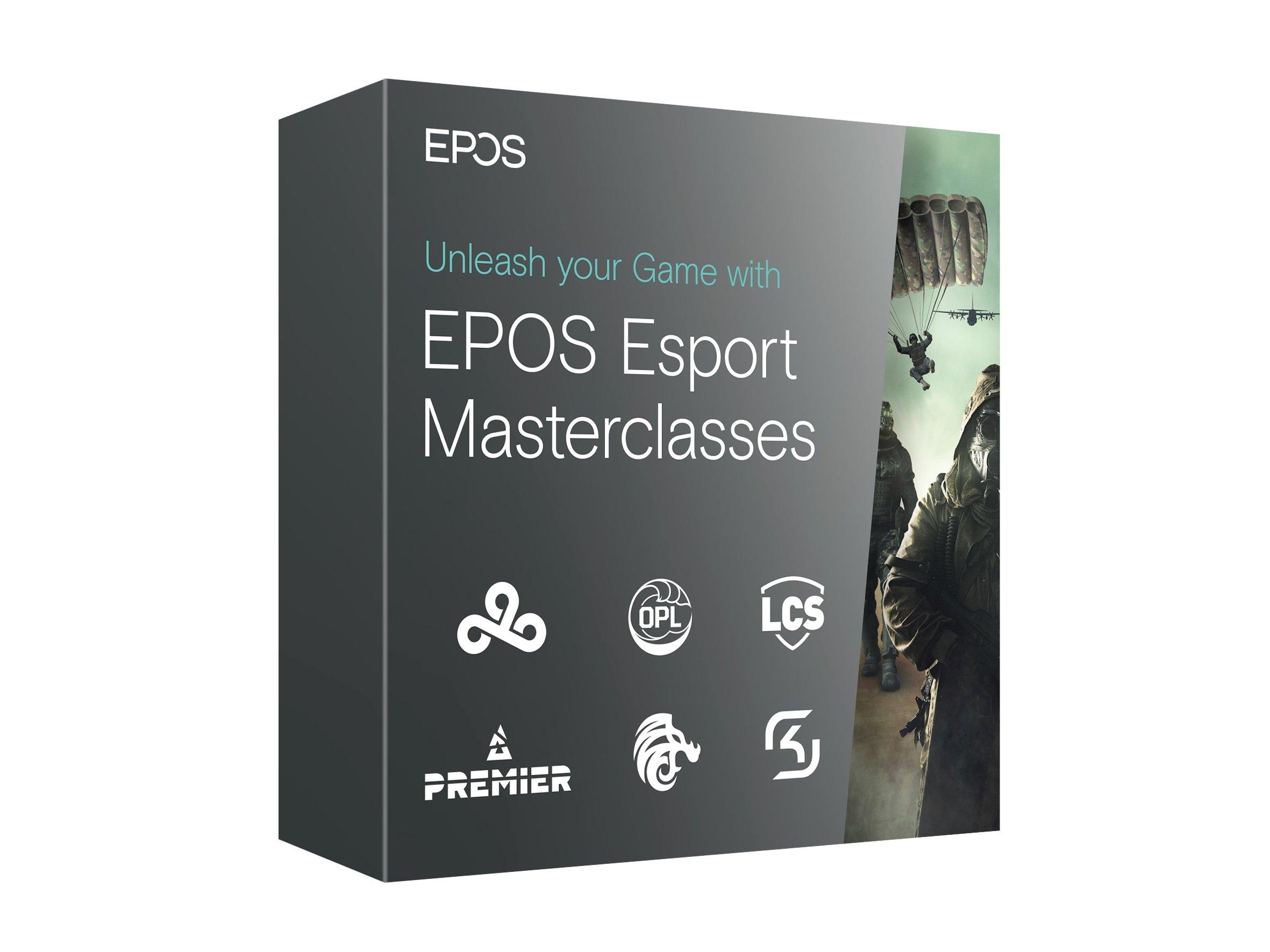 EPOS Masterclass Esports Event tickets win contest learn esports
