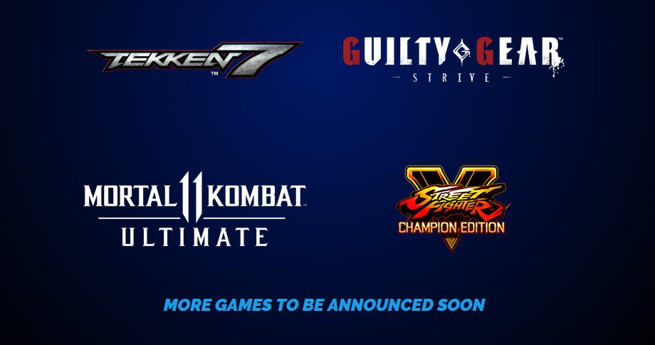 Evo 2021 will feature tournaments for Guilty Gear Strive, Mortal Kombat 11 Ultimate, Street Fighter V: Champion Edition, and Tekken 7.