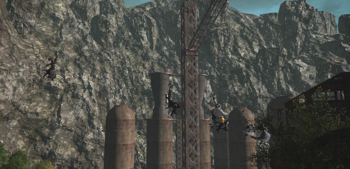 Final Fantasy XIV NieR raid review