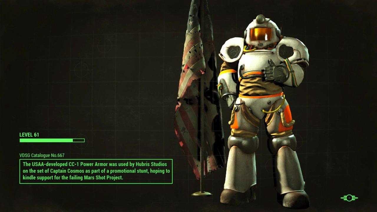Captain Cosmos Power Armor