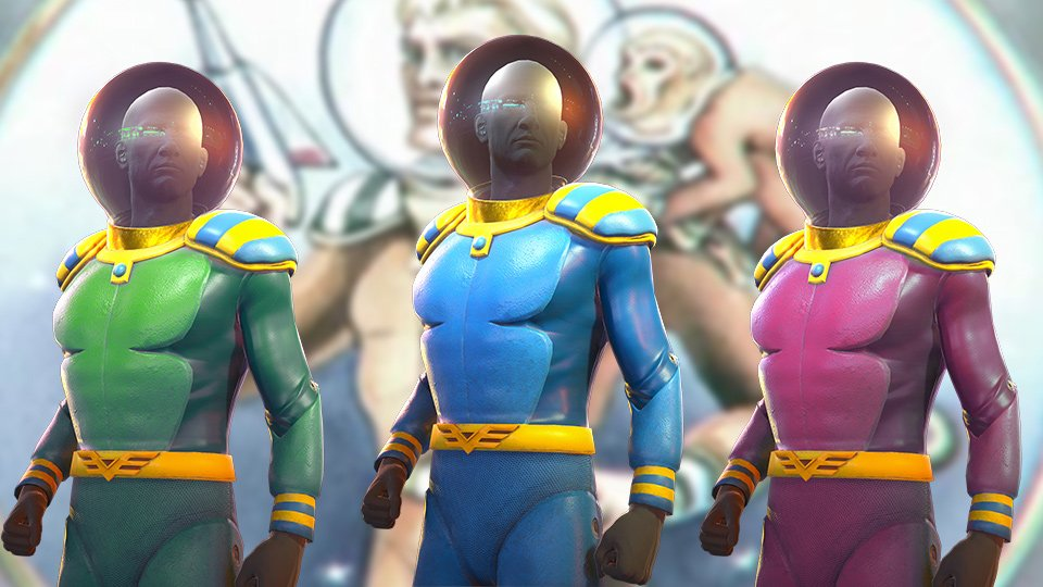 Fallout 76 Captain Cosmos Suits