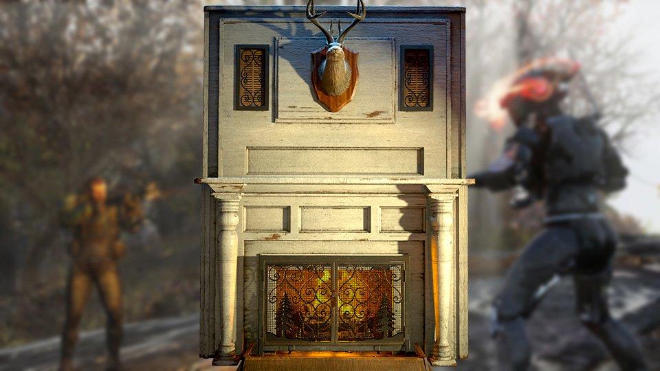 Fallout 76 Fireplace Secret Door