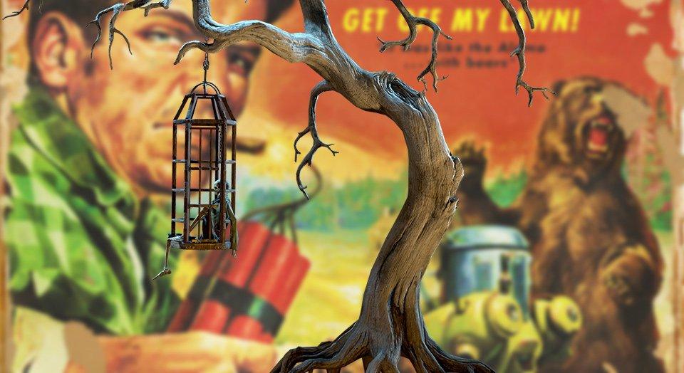 Fallout 76 Hanging Raider Tree Camp Item