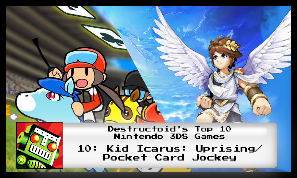 Kid Icarus: Uprising is one of the best 3DS games