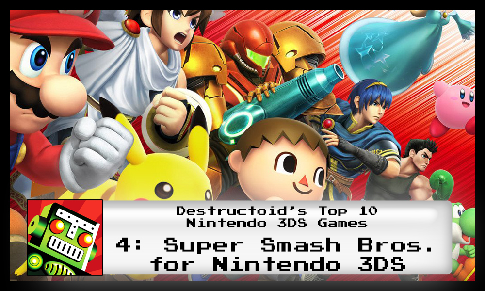 Super Smash Bros. is one of the best 3DS games