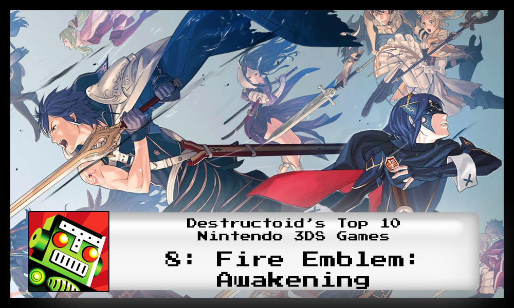 Fire Emblem: Awakening is one of the best 3DS games