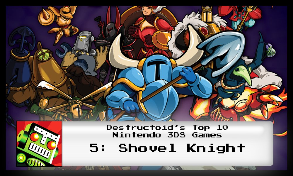 Shovel Knight is one of the best 3DS games