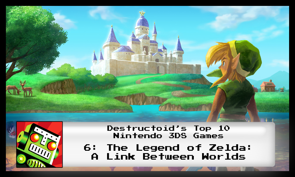 The Legend of Zelda: A Link Between Worlds is one of the best 3DS games