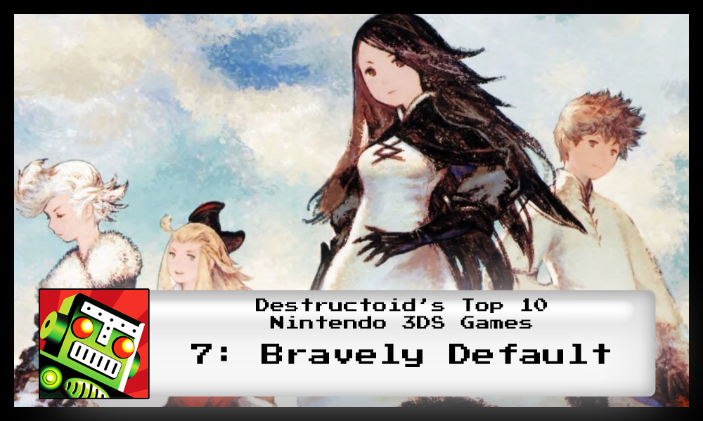 Bravely Default is one of the best 3DS games