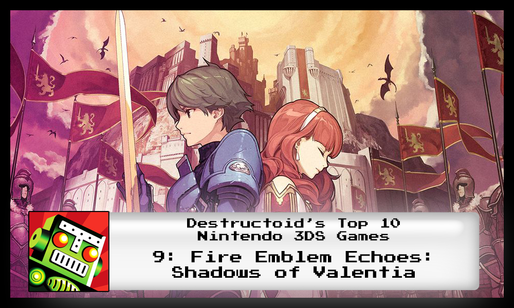 Fire Emblem: Shadows of Valentia is one of the best 3DS games
