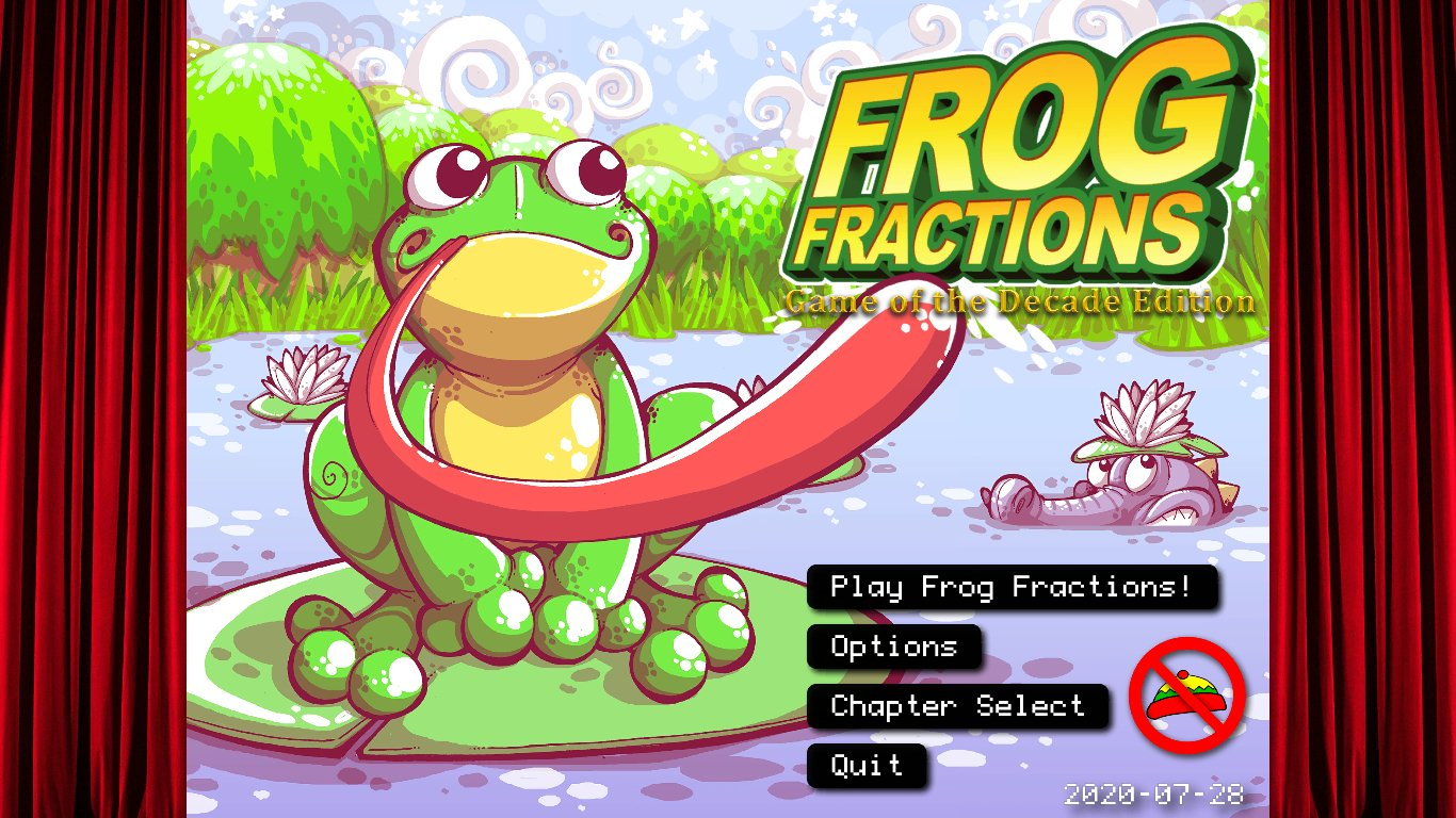 Frog Fractions 3 DLC Review